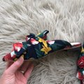 RAYE Revolve Floral Slides Bow Navy Mules Image 5