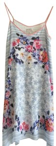 M.S.S.P. short dress multi colored with pink and blue flowers on Tradesy
