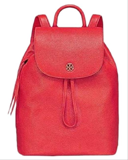 Item - Brody 43508 Liberty Red Leather Backpack
