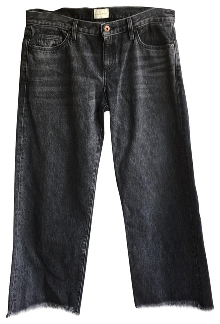 Item - Gray Wide In Wash Lapin Stlye#w005 Straight Leg Jeans Size 8 (M, 29, 30)