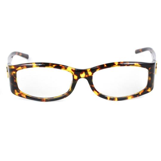Gucci GG Crystal Logo Tortoise Clear Lens Image 1