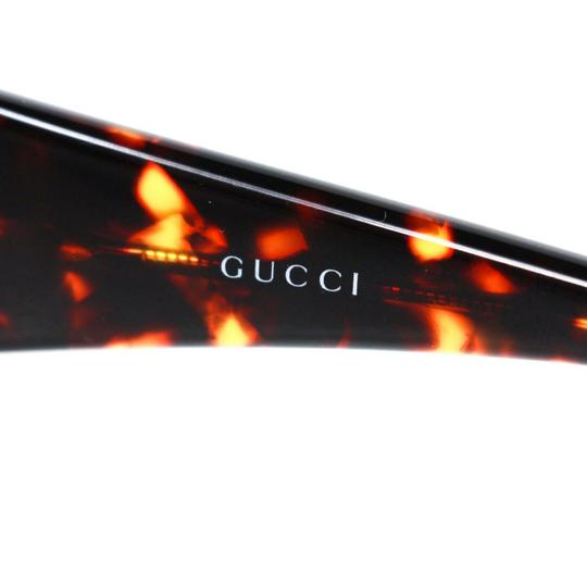 Gucci GG Crystal Logo Tortoise Clear Lens Image 4