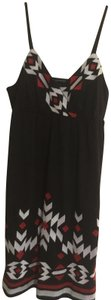 INC International Concepts short dress Bulk w/red & white embroidered Adjustable Straps on Tradesy