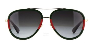 Gucci Large Aviator GG 0062s 003 - FREE SHIPPING - Pilot Sunglasses - item med img