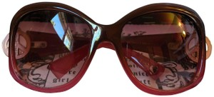 Juicy Couture Juicy Couture Sunglasses with Pink Crystal