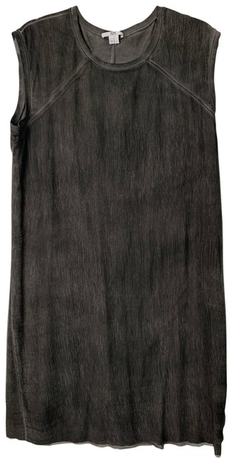 Item - Charcoal Grey Mid-length Night Out Dress Size 12 (L)