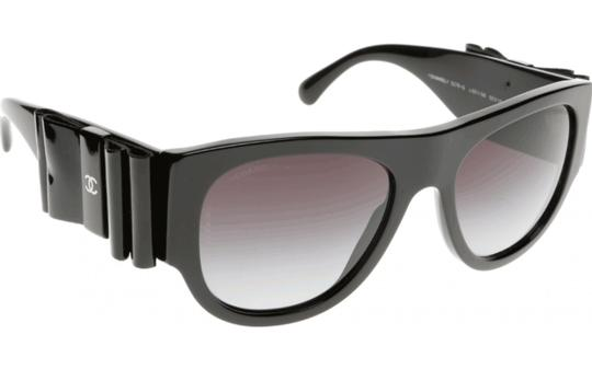 Chanel CH5276-Q 501/S6 Leather Bow Oversized Image 4