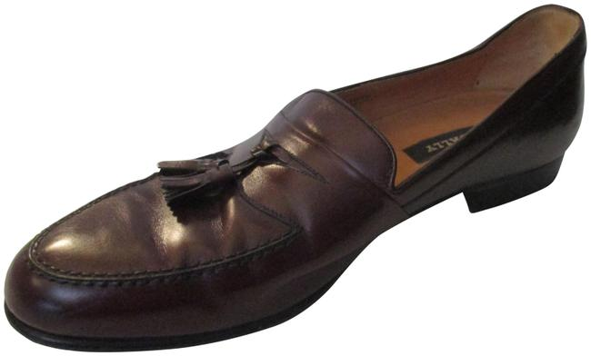 Item - Brown Men's Arturo Tassel Loafers Made In Italy - Formal Shoes Size US 10.5 Wide (C, D)