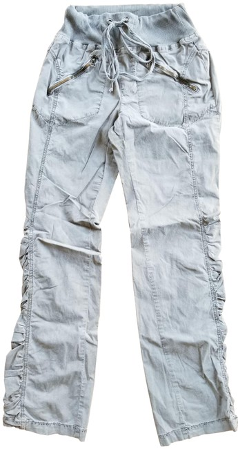 Item - Green With Ruched Siding Pants Size 6 (S, 28)