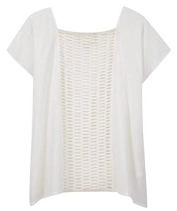 Band of Outsiders Top ivory