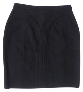Adam Lippes Mini Skirt black