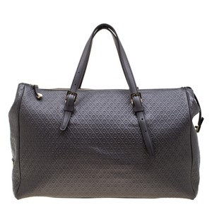 Tod's Leather Signature Satchel in Grey