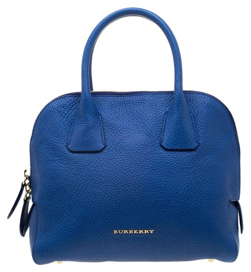 Preload https://img-static.tradesy.com/item/25886252/burberry-pebbled-yorke-blue-leather-satchel-0-1-540-540.jpg