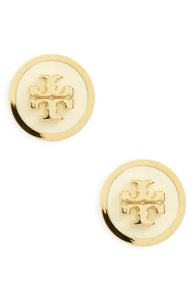 Tory Burch TORY BURCH Logo Stud Earrings