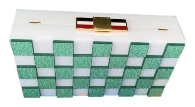 Item - Sold Out Everywhere Multicolor Plexi Glass &pebb Clutch