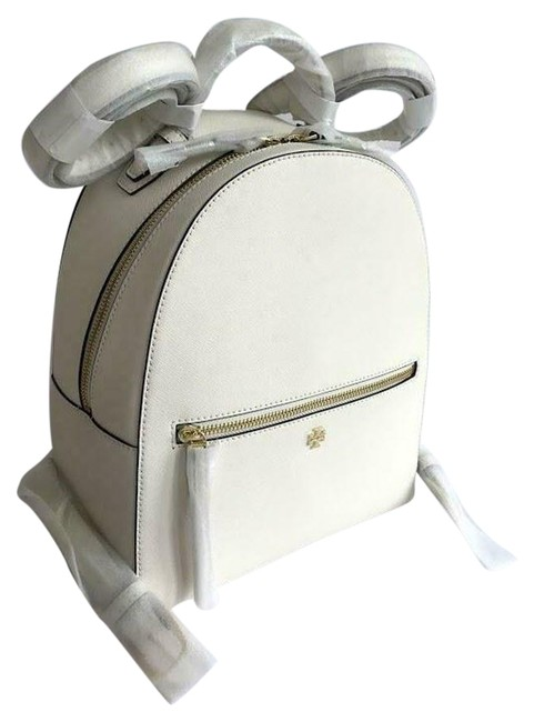Item - Emerson New Ivory White Leather Backpack