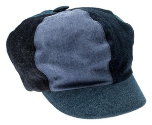 Dior Dior Blue Denim Patch Cap M