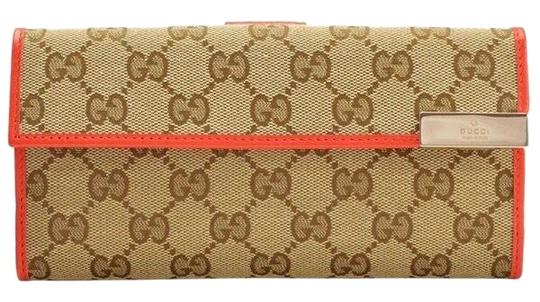 Preload https://img-static.tradesy.com/item/25886853/gucci-beigesun-orange-continental-wallet-0-1-540-540.jpg