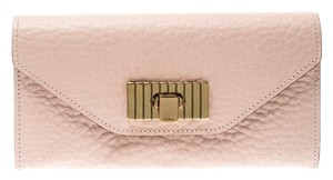 Chloé Blush Pink Leather Sally Wallet