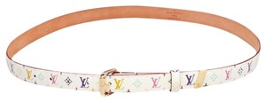 Louis Vuitton LOUIS VUITTON White Monogram Multicolore