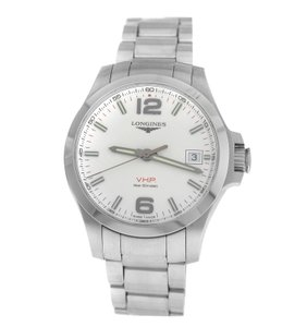 Longines Men's Longines Conquest V.H.P. L3.716.4.76.6 Steel Quartz Date 41MM