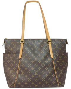 Louis Vuitton Lv Totally Mm Totally Mm Monogram Canvas Lv Totally Brwon Lv Tote in Brown