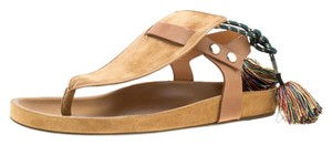 Isabel Marant Suede Leather Brown Flats