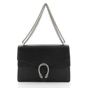 Gucci Dionysus Leather Medium Shoulder Bag