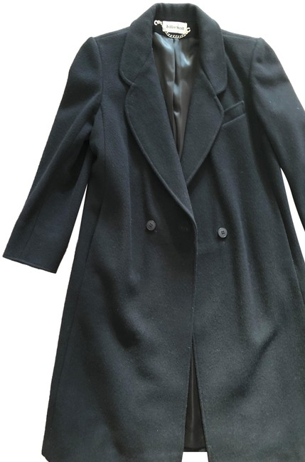Item - Black Long For Winter Use Coat Size 2 (XS)
