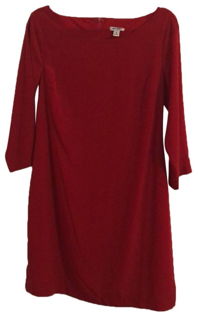 Item - Red Cute Short Night Out Dress Size 8 (M)