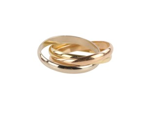 Cartier Cartier Classic Trinity 18k Tricolor Gold Ring