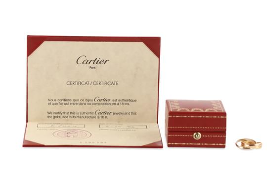 Cartier Cartier Classic Trinity 18k Tricolor Gold Ring Image 11