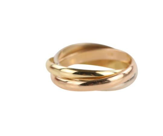 Cartier Cartier Classic Trinity 18k Tricolor Gold Ring Image 2