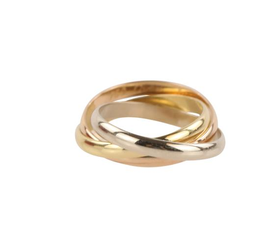 Cartier Cartier Classic Trinity 18k Tricolor Gold Ring Image 3