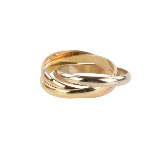 Cartier Cartier Classic Trinity 18k Tricolor Gold Ring Image 4