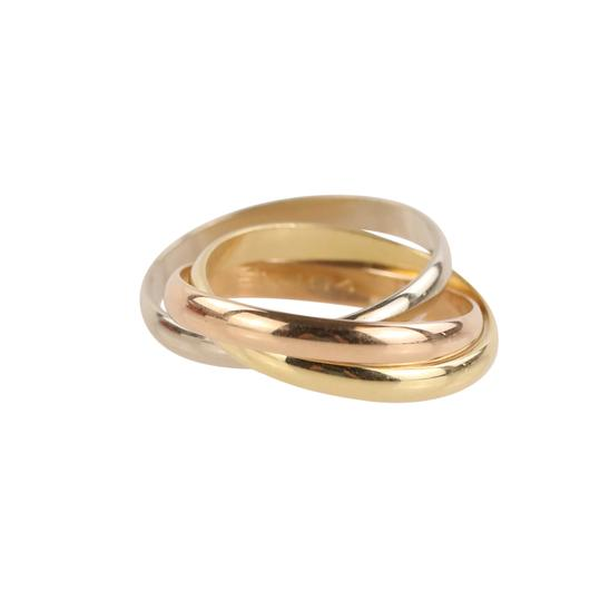 Cartier Cartier Classic Trinity 18k Tricolor Gold Ring Image 5