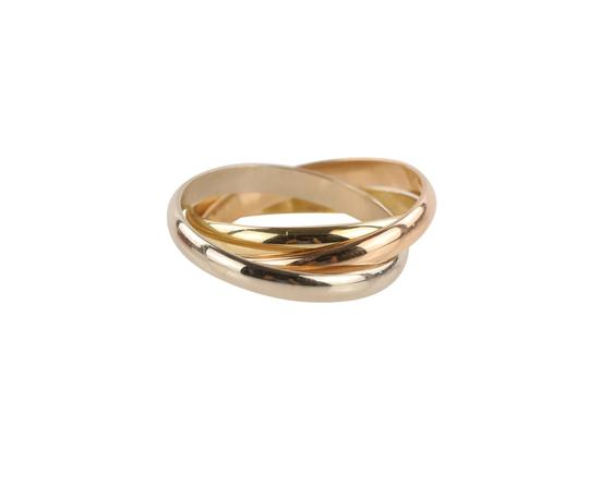 Cartier Cartier Classic Trinity 18k Tricolor Gold Ring Image 6
