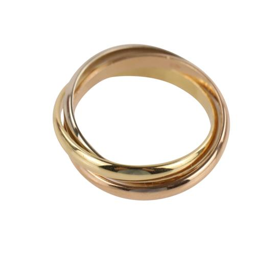 Cartier Cartier Classic Trinity 18k Tricolor Gold Ring Image 7