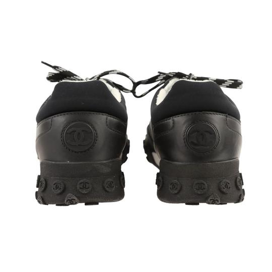 Chanel Mesh Lycra Sneakers Black Athletic Image 2