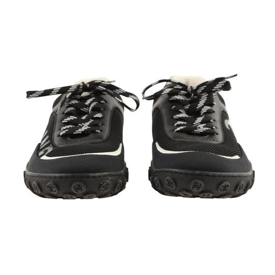 Chanel Mesh Lycra Sneakers Black Athletic Image 3
