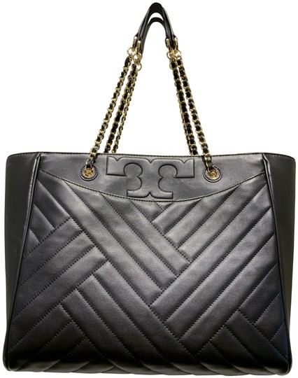 Preload https://img-static.tradesy.com/item/25888550/tory-burch-alexa-flat-large-black-leather-tote-0-1-540-540.jpg