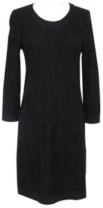 Chanel short dress Black Knit Sweater on Tradesy