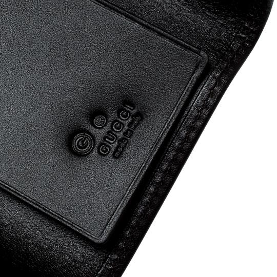Gucci Lilac/Black GG Canvas and Leather 6 Key Case Image 5