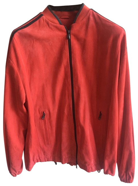 Item - Red Bomber Jacket Size 4 (S)