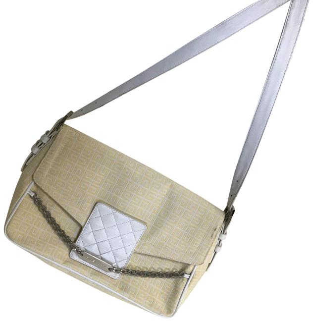 Item - Monogram and Leather Yellow Canvas Messenger Bag