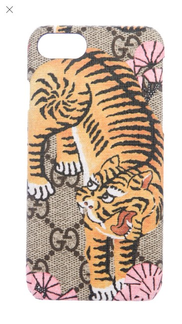 Item - Multi Colored Tan Pink Supreme Bengal Tiger Iphone 7 Case Cover Tech Accessory