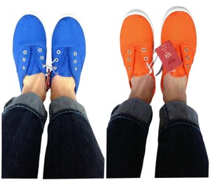 Mossimo Supply Co. Boatshoes Cute Blue Flats