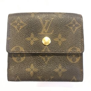 Louis Vuitton Louis Vuitton Logo Monogram LV Canvas Bifold Wallet France
