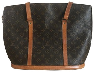 Louis Vuitton M51102 Luco Neverfull All-in Cabas Mezzo Tote in Brown