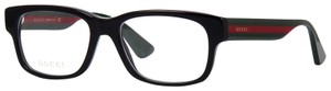 Gucci Large Rectangle GG0343o 007 FREE and FAST SHIPPING NEW Optical Glasses